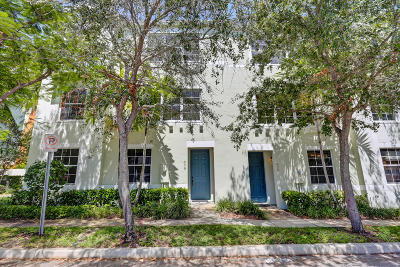 West Palm Beach Townhouse For Sale: 639 Street