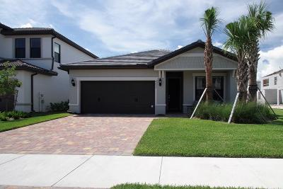 Lake Worth Single Family Home For Sale: 4615 San Fratello Circle