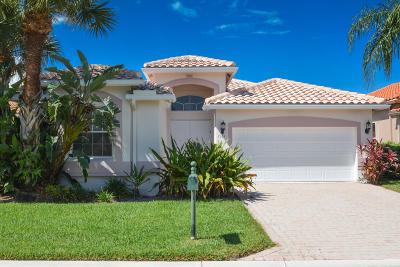 Boynton Beach Single Family Home For Sale: 7105 Catania Drive