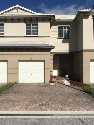 Riviera Beach FL Townhouse For Sale: $179,900
