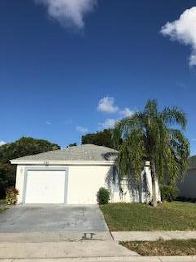 Boynton Beach Single Family Home For Sale: 705 Key West Street