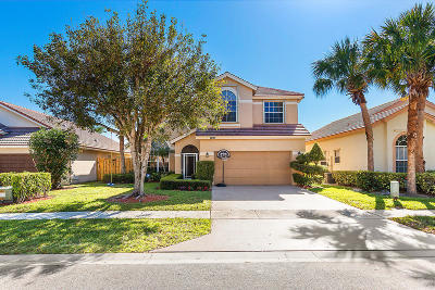 Lake Worth Single Family Home For Sale: 7693 Hoffy Circle