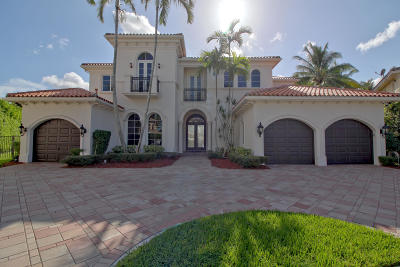 Broward County, Palm Beach County Single Family Home For Sale: 17603 Middle Lake Drive