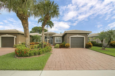 Boynton Beach Single Family Home For Sale: 5749 Emerald Cay Terrace