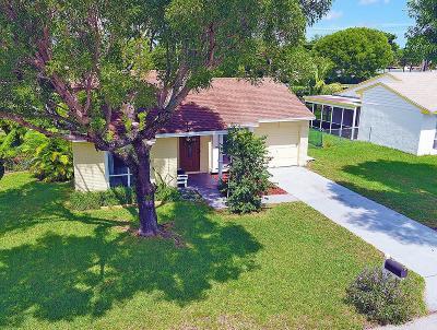 Boca Raton Single Family Home For Sale: 8339 Garden Gate Place