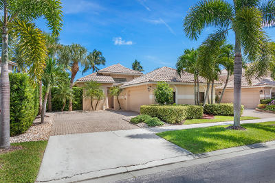 Boca Raton Single Family Home For Sale: 17528 Via Capri