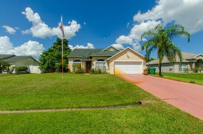 Port Saint Lucie, Saint Lucie West Single Family Home For Sale: 1113 SW Colorado Avenue