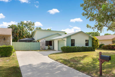 Delray Beach Single Family Home For Sale: 2492 NW 10th Street