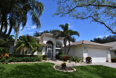 Boynton Beach Single Family Home For Sale: 11535 Pamplona Boulevard
