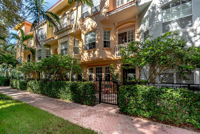Palm Beach Gardens Townhouse For Sale: 2435 San Pietro Circle