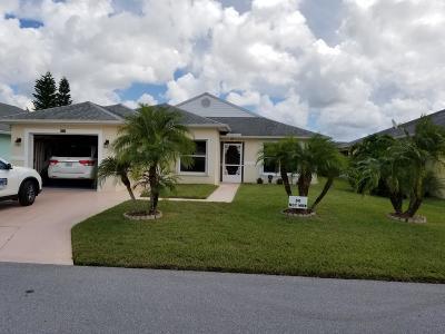 Fort Pierce Single Family Home For Sale: 6654 Gaviota