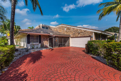 Palm Beach Gardens Single Family Home For Sale: 13728 Sand Crane Drive