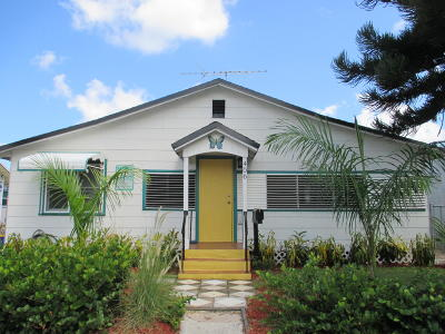 Lake Worth Single Family Home For Sale: 406 S B Street
