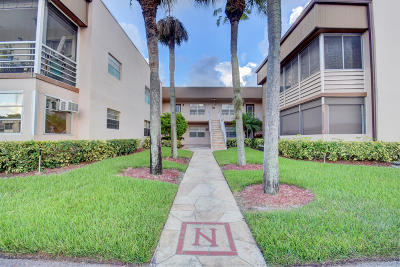 Delray Beach Condo For Sale: 646 Normandy N