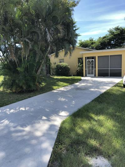 Palm Springs Single Family Home For Sale: 3058 Frost Road