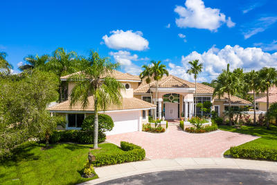 West Palm Beach Single Family Home For Sale: 8470 Egret Lakes Lane