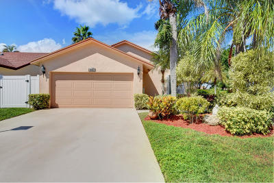 Boca Raton Single Family Home For Sale: 19857 Villa Medici Place