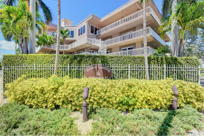 Lake Worth Condo For Sale: 129 S Golfview Road #8
