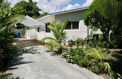 Lantana Single Family Home For Sale: 719 4th Street