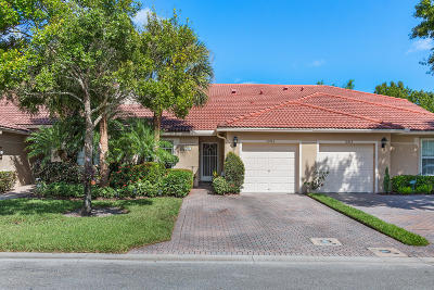 Boynton Beach Single Family Home Contingent: 12060 Serafino Street #312