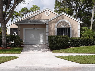 Delray Beach Single Family Home For Sale: 7956 Mansfield Road
