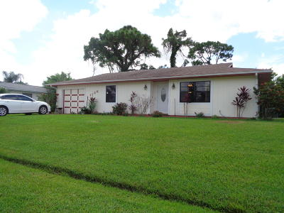 Single Family Home For Sale: 1126 SE Palm Beach Road