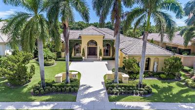 Boca Raton, Delray Beach, Boynton Beach Single Family Home For Sale: 5911 Vintage Oaks Circle