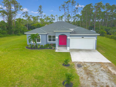 Loxahatchee Single Family Home For Sale: 15898 75th Lane
