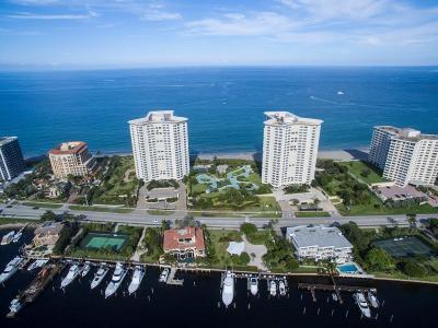 Boca Raton Condo For Sale: 550 S Ocean Boulevard #Ph-7