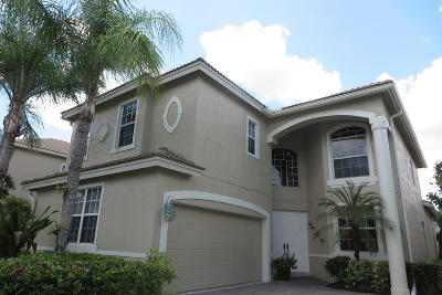 Delray Beach Single Family Home For Sale: 16894 Knightsbridge Lane