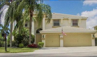 Lake Worth Single Family Home For Sale: 6524 Marbletree Lane