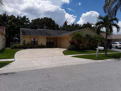 Lake Worth Single Family Home For Sale: 5854 Lincoln Circle W
