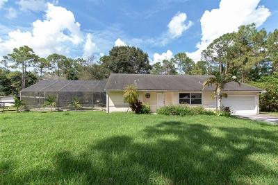 Loxahatchee Single Family Home For Sale: 17161 48th Court