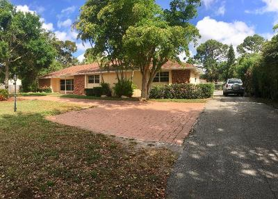 West Palm Beach Rental For Rent: 6863 Lakeside Road