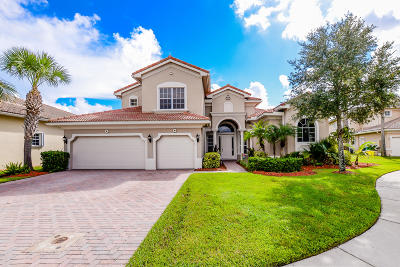 Port Saint Lucie FL Single Family Home Contingent: $478,000