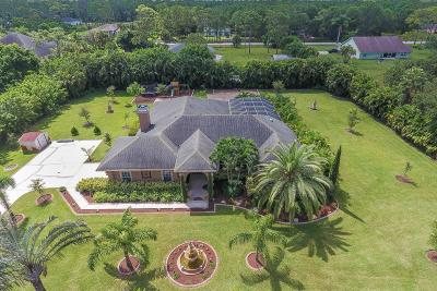 Loxahatchee FL Single Family Home For Sale: $539,900