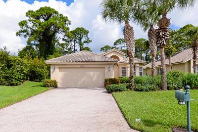 Port Saint Lucie Single Family Home For Sale: 9518 Avenel Lane