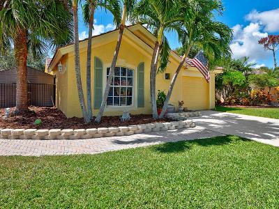 Lake Worth Single Family Home For Sale: 7559 Savannah Lane