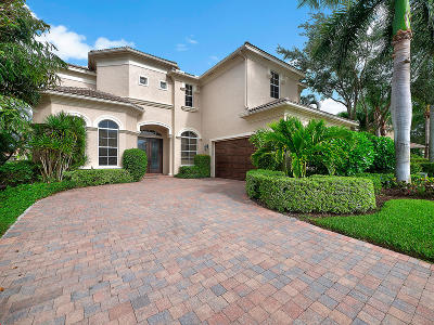 Palm Beach Gardens Single Family Home For Sale: 123 Dalena Way