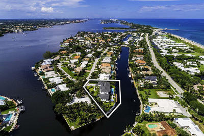 Ocean Ridge Single Family Home For Sale: 16 Sabal Island Drive