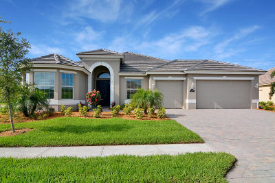 Vero Beach Single Family Home For Sale: 4836 Four Lakes Circle SW