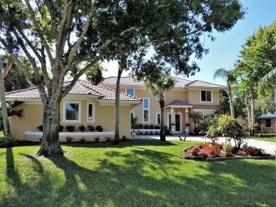 Hobe Sound Single Family Home For Sale: 8590 SE Wilkes Place