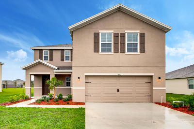 Fort Pierce Single Family Home For Sale: 8452 Cobblestone Drive