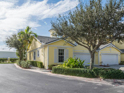 Fort Pierce Townhouse For Sale: 2006 Mariner Bay Boulevard