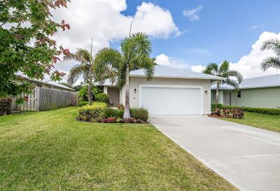 Jupiter Single Family Home Contingent: 17587 Cinquez Park Road