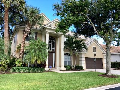 Palm Beach Gardens Single Family Home For Sale: 127 Satinwood Lane