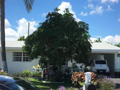 Pompano Beach Single Family Home Contingent: 3731 NE 13 Ter Terrace