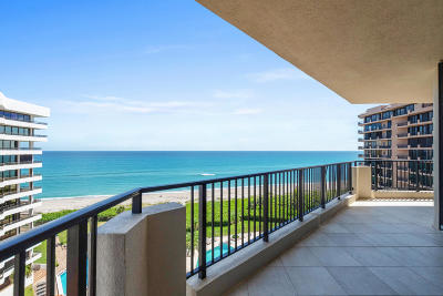 Juno Beach Condo For Sale: 570 Ocean Drive #901