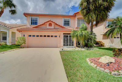 Boca Raton Single Family Home For Sale: 18102 Clear Brook Circle