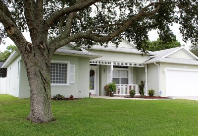 Fort Pierce Single Family Home For Sale: 5403 Winter Garden Parkway